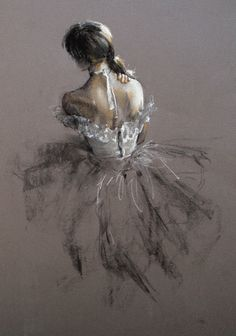 Faces and Figures: Sketching Degas ballerinas