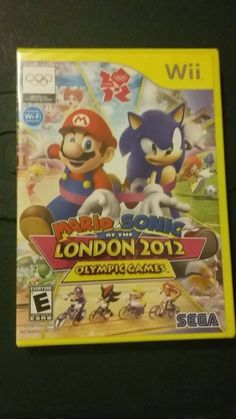 Mario and Sonic 2012 London Olympic Games (Nintendo Wii) Brand new sealed!