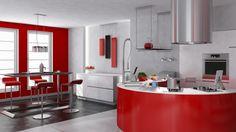 18 Futuristic kitchen designs   http://www.littlepieceofme.com/kitchen/futuristic-kitchen-designs/