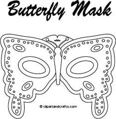 Disney+Butterfly+Coloring+Pages | butterfly mask coloring pattern fjäril står för transformering...