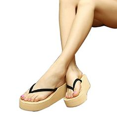 366544fd9772 Yoyorule Women Flip flops Slippers Shoes Beach Sandals Summer Home Shoe   gt  gt  gt