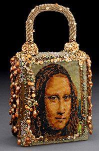 Beaded purse by Sherry Serafini