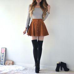 Resultado de imagem para pretty skirt outfits