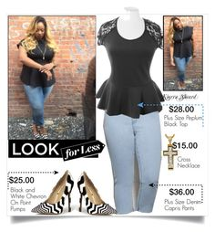 """""""Get The Kierra Sheard Look For Less"""" by melindairenes ❤ liked on Polyvore featuring women's clothing, women's fashion, women, female, woman, misses, juniors, LookForLess, Fulldiva and thanksdarling"""