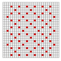 Ravelry: Decorative Bobble Charts pattern by Kari Philpott