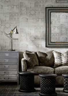 Exciting new collections on their way -  wallpapers and fabrics, furniture and lighting