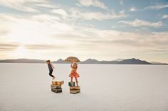 @Shannon Lockwood ... after we do our yacht photo shoot, let's go to the salt flats in Utah and do this one. ;)