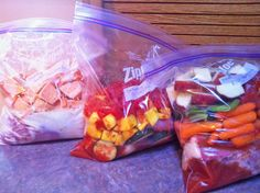 Batch Cooking Plan -- Slow Cooker Freezer Packs, Muffins, Cookies and More!