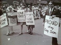 Gay Pride Parade, New York City, 1974