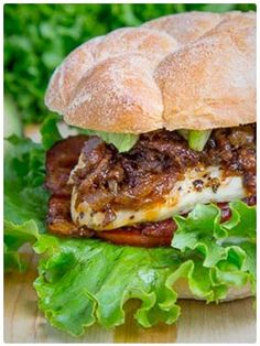 Bacon Jam Chicken Club Sandwich
