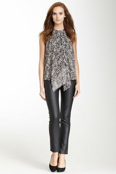 Vegan Leather Pant by 555 on @HauteLook