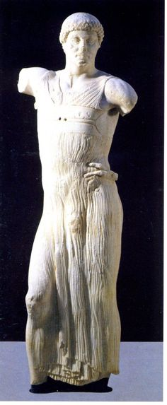 The Motya Charioteer, Greek sculpture c. 460 BC