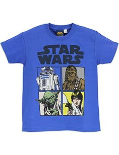 Star Wars - Camiseta para niño La guerra de las Galaxias #camiseta #starwars #marvel #gift
