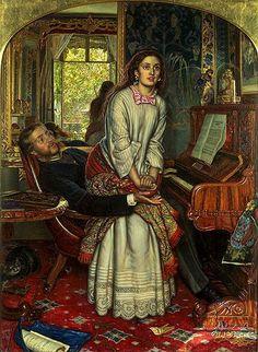 Dante Gabriel Rossetti! Dante Gabriel Rossetti (12 de maio, 1828 – 9 de Abril 1882) foi um poeta Inglês, ilustrador, pintor e tradutor. Ele fundou a Irmandade Pré-Rafaelita, em 1848, com Will…