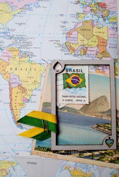 Rio de janeiro - vintage postal