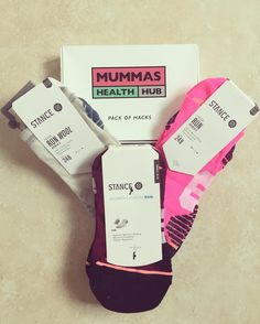 Fab #prize arrived from @mummas_health_hub & @stanceeurope just read all the hacks they're brill & COMFIEST SOCKS EVER!! Thank you! #winner #giveaway