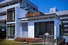 コンテナハウス/横浜コンテナの家/コンテナハウスを建てる/おしゃれなコンテナハウス/IDMobile