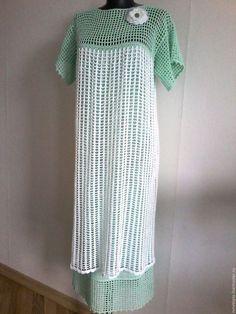 Knit Dress, Dress Skirt, Make Your Own Dress, Crochet Magazine, Crochet Top, Knitting Patterns, Diy And Crafts, Short Sleeve Dresses, Pretty