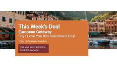 European Getaway - https://traveloni.com/vacation-deals/european-getaway/ #europeanvacation #greece #france #italy