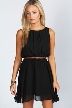 Express ~ Zip Front Midi Dress ~ Pitch Black ~ Simple yet so sexy ...