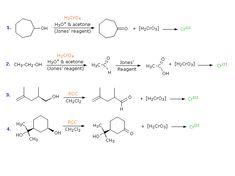 Reactions   Oxidation Chromic Acid Derivatives Alcohol Reactivity