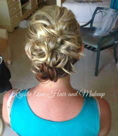 Hair: www.krystieann.com  Wedding hair, bridal hair, updo, elegant hair, mother of the bride hair