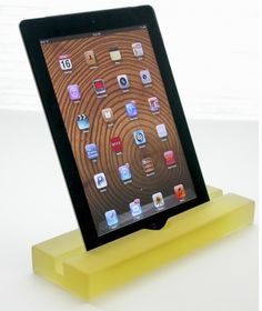 Items similar to Groove Green Grass Resin iPad Stand, Tablet Stand, Mobile Device Stand, iPad Pro Stand on Etsy Tablet Stand, Ipad Stand, Lemon Sorbet, Circle Time, Lemon Yellow, Educational Technology, Tech Gadgets, Ipad Pro, Tech Accessories