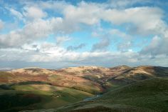 From Turnhouse Hill, the northern end of the Pentland Hills