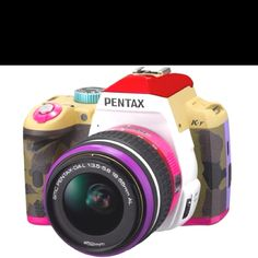 Nice colourful camera.