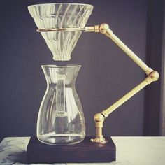 5 Luxurious Stands for Pour Over Coffee (Plus Some Pour Over Basics) - Coffee Maker - Ideas of Coffee Maker - 5 Luxurious Stands for Pour Over Coffee (Plus Some Pour Over Basics) Coffee Gear Coffee Love, Drip Coffee, V60 Coffee, Coffee Break, Best Coffee, Coffee Shop, Coffee Cups, Espresso Coffee, Pouring Coffee