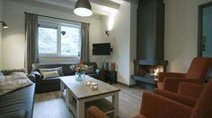 #Sfeervolle en #gezellige #woonkamer in de groepsaccommodaties het Koets- en Bakhuis.