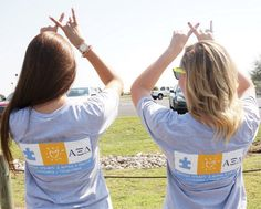 Alpha Xi Delta and Autism Speaks co-branded t-shirts