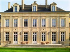 Go inside Veuve Clicquot's spectacular L'Hôtel du Marc, a 19th-century chateau in the Champagne capital of Reims, France