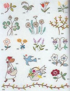 Free Hand Embroidery Patterns – Index – Needle'nThread.com