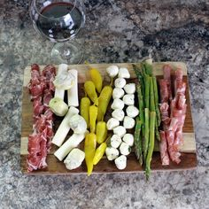 The perfect antipasto platter
