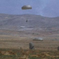 This is the moment Turkish paratroopers invaded Cyprus in 1974.  43 years later the UK is #news #alternativenews