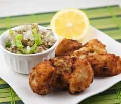 Fried Walleye. I've never had it but this looks amazing.