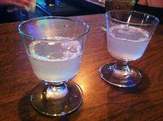 White Gummy Bear Shot 1/2 oz cherry vodka 1/2 oz peach schnapps splash of pineapple juice splash of Sprite soda