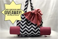 Win this Fresh & Fit Tote from Beauty Unveiled!  Awesome for hot yoga, swimming, travel and more!  1 waterproof Wet Compartment & a Dry Compartment to keep dry things dry! Enter today!