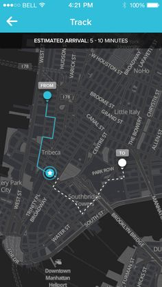 Track-agent Web Ui Design, Map Design, Phillips Hue Lighting, App Map, Ui Color, Taxi App, Car Ui, Map Layout, Snow Forest