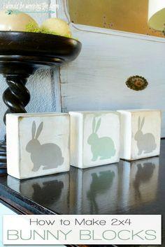 Make bunny with fabric