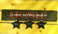 Home is where the Army sends us by ChickThing2010 on Etsy