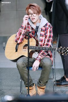 Jae   DAY6    the dude's got talent and he's humble and bilingual. He deserves more notice than he gets