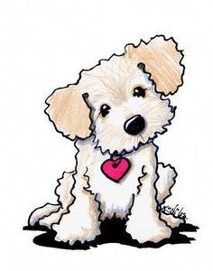 """Drawing Doodles Sketches Doodle Dog Puppy by Kim Niles - """"Doodle Dog Puppy"""" by Kim Niles: Labradoodle puppy dog by KiniArt artist, Kim Niles. KiniArt - All Rights Reserved. Doodle Drawings, Animal Drawings, Cute Drawings, Cute Dog Drawing, Dog Drawings, Nose Drawing, Cute Cartoon Animals, Cute Animals, Cartoon Hippo"""