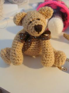 My second attempt at a Crocheted bear