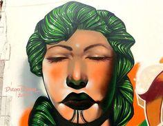 Street Art, Graffiti: Gran Canaria Diego Diem artwork