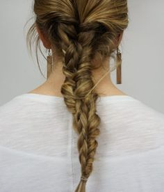 The easiest 'stacked' braid out there!