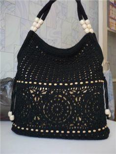 Как связать крючком сумку: Вязание для начинающих