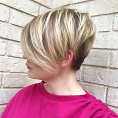 Classy Feathered and Tapered Pixie