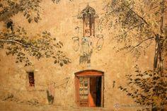 ALEXANDRE CARDUNETS CAZORLA (Barcelona,1871-1944) DIBUJO ACUARELADO DL 1893. LA CASA DE LOLA ANGLADA - Foto 5